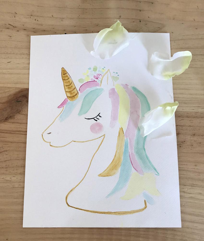 Lámina unicornio Harper