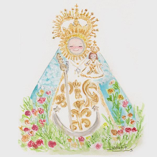 Cuadro Virgen de La Encina Jaén