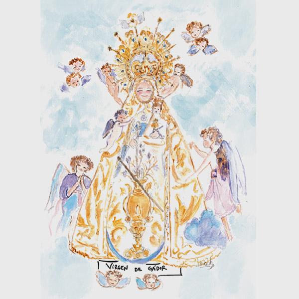 Cuadro Virgen de Gador de Berja