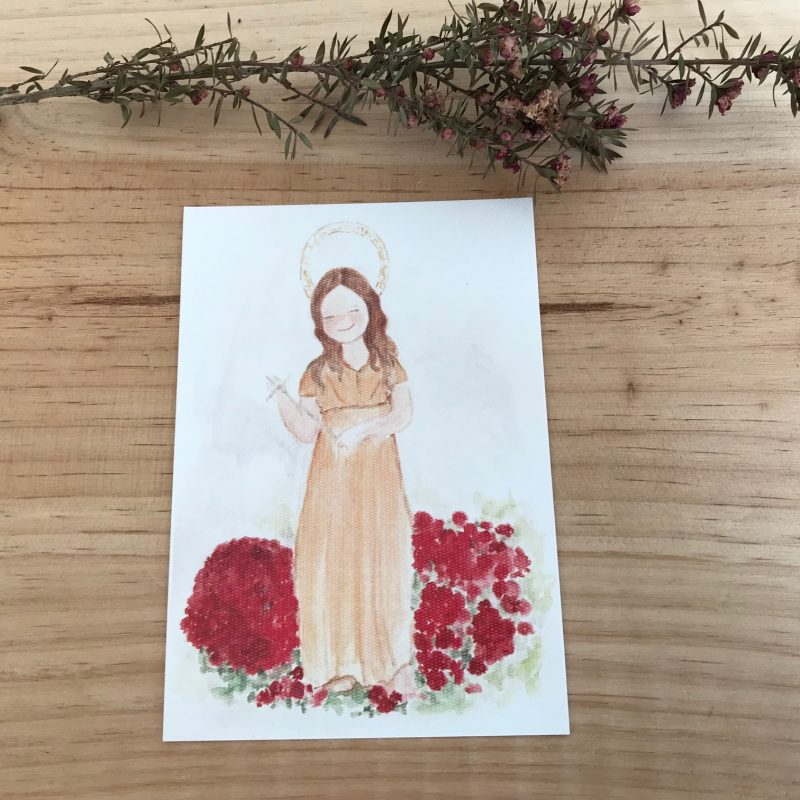 Lamina Virgen de la Magdalena LLanes