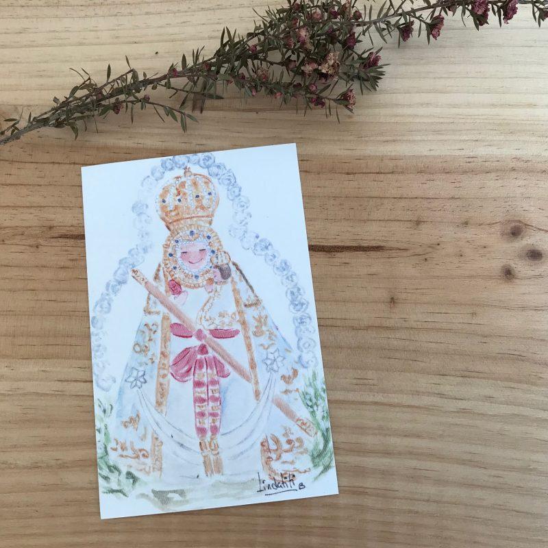 Lamina Virgen de la Cabeza jaen