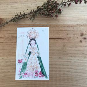 Ilustracion Virgen de la Balesquida