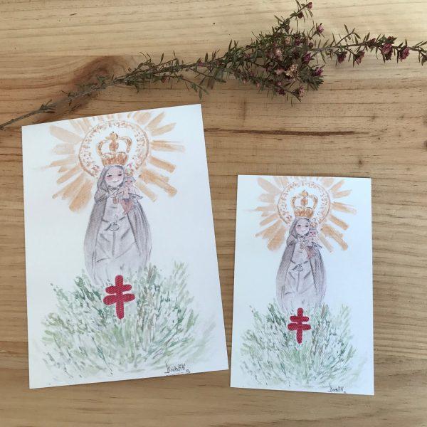 Lamina Virgen del Pilar