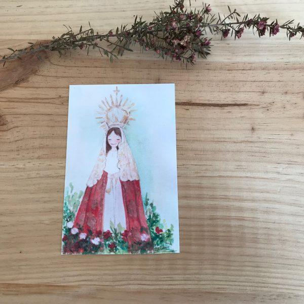 Lamina Virgen del Carbayo Langreo