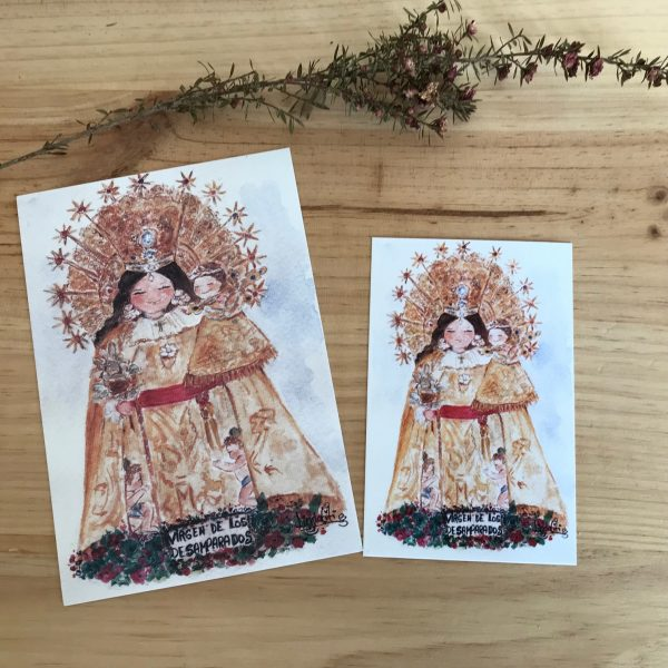 Laminas Virgen de los Desamparados