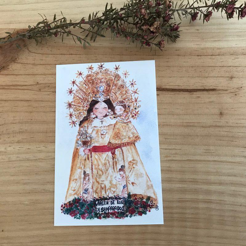 Lámina Virgen de Los Desamparados de Valencia