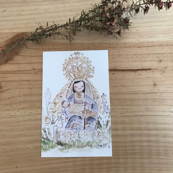 Lamina Virgen de Africa ceuta