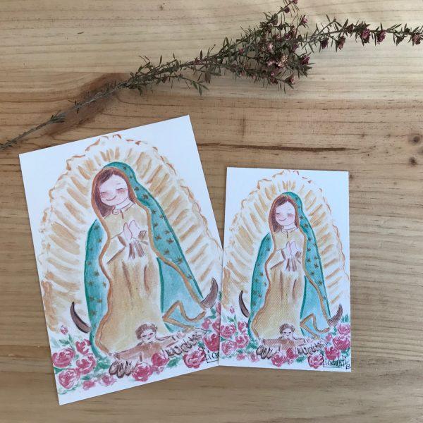 Ilustraciones Virgen Guadalupe México