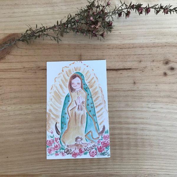 Lamina Virgen de Guadalupe Mexico