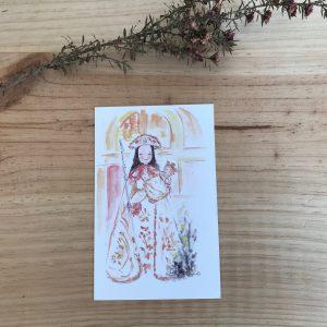 lamina Virgen de la Peregrina Pontevedra