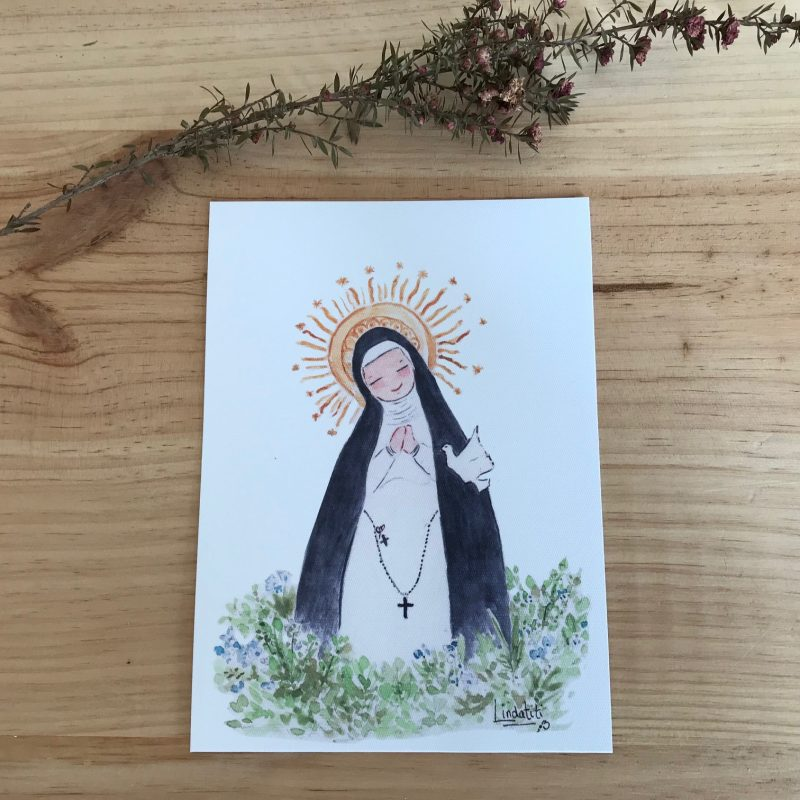 Lámina Virgen de la Paloma