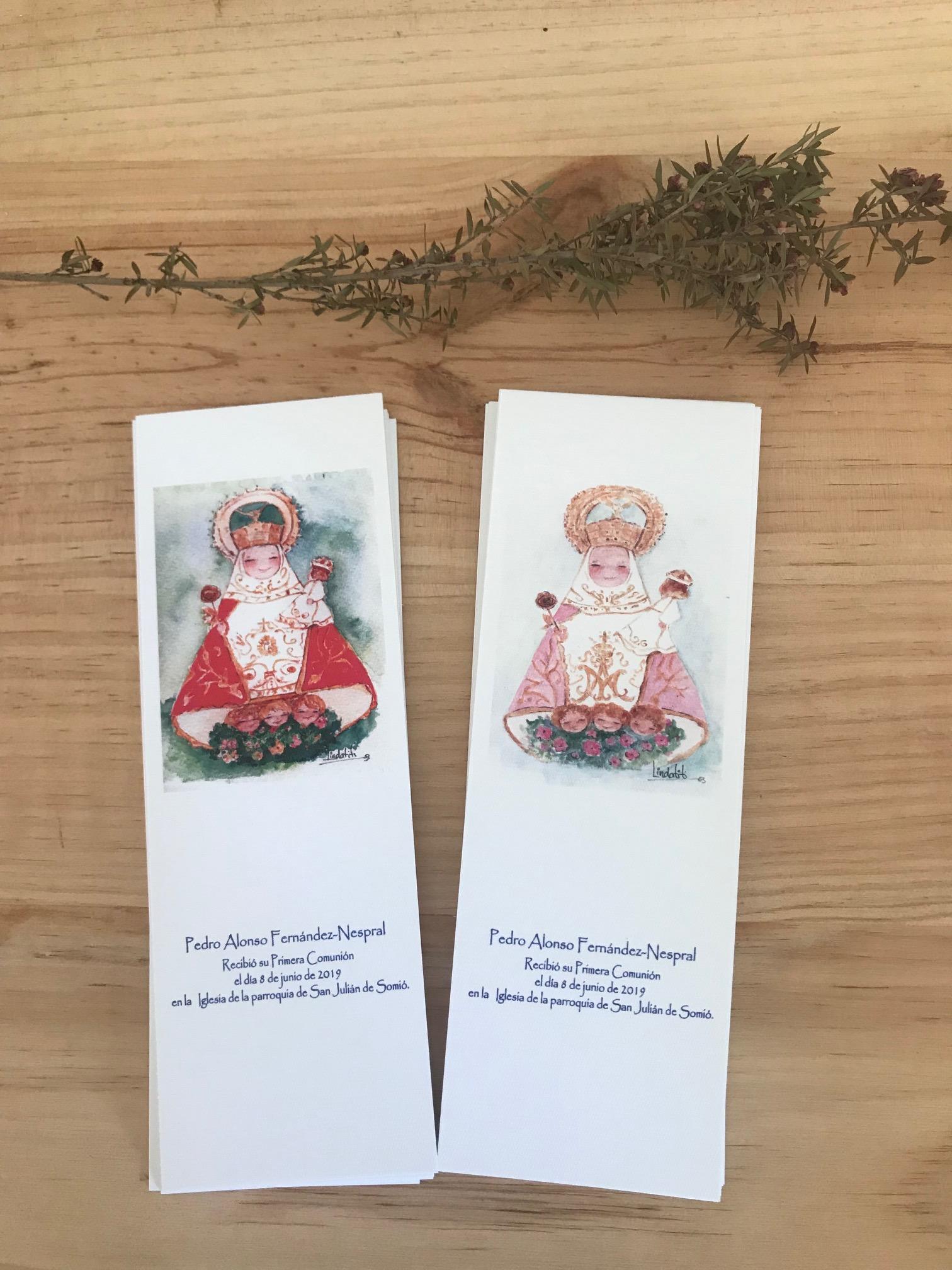 Recordatorios Comunión Virgen Covadonga