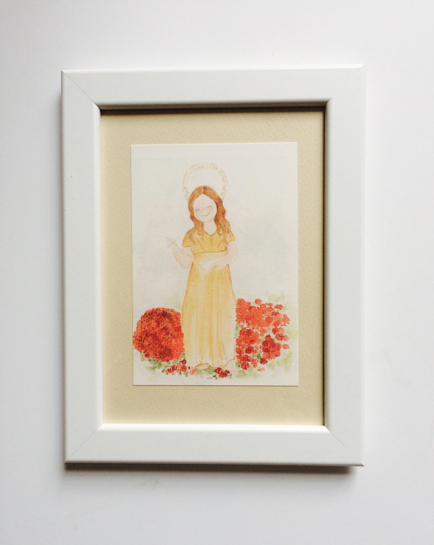 Cuadro Virgen de la Magdalena ( Llanes)